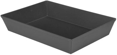 LloydPans Kitchenware 10 inch by 14 inch by 2.5 inch Detroit Style Pizza Pan -