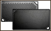 Load image into Gallery viewer, Lodge LDP3 Rectangular Cast Iron Reversible Grill/Griddle, Black -