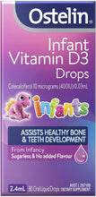 Load image into Gallery viewer, Ostelin Infant Vitamin D3 Drops Helps with bone immune system -