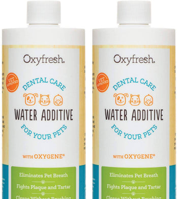 Oxyfresh Premium Pet Dental Care Water Additive: Fights Tartar & Plaque -