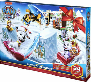 Paw Patrol, 2019 Advent Calendar with 24 Collectiblepiece, for Kids -