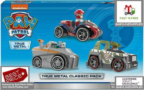 Paw Patrol  Everest Snowmobile Ryder Jungle Tracker  3 pack set -
