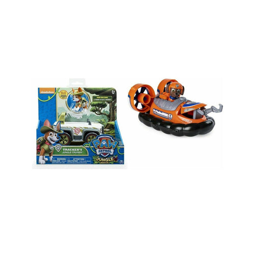 Paw Patrol Zuma Tracker Jungle Cruiser -