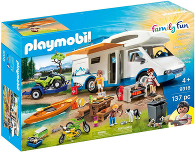 PLAYMOBIL Camping Mega Set Toy -