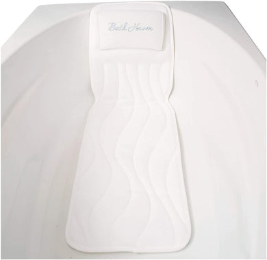 Quiltedair Bathbed Deluxe Luxury Bath Pillow and Spa Cushion Full Body Comfort -