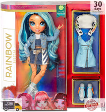 Load image into Gallery viewer, Rainbow Surprise Rainbow High Skyler Bradshaw – Blue Fashion Doll with 2 Outfits -