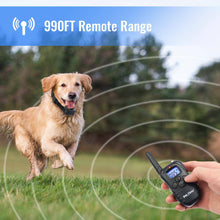 Load image into Gallery viewer, Rechargeable Rainproof Electric Shock E-Collar LCD 100LV  Petrainer PET998DR2 -