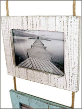 Load image into Gallery viewer, Rustic Farmhouse Distressed Picture Frames Wood Photo Frame Display -