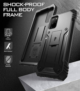 S20 Plus case  S20+ Case Rugged Dual-Layer Shockproof Protective cover -