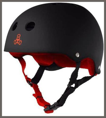 Triple Eight Helmet with Sweatsaver Liner -