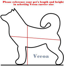 Load image into Gallery viewer, Vceoa Airline Approved Pet Carriers, Soft Sided Collapsible Pet Travel Carrier -