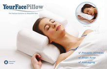 Load image into Gallery viewer, YourFacePillow Anti Wrinkle Anti Aging Wrinkle Prevention Acne Treatment Pillow -