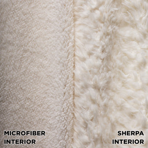 ARSC Hooded Premium Plush Micro-mink Blanket