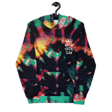 Load image into Gallery viewer, ARSC Rasta Shade Tie Dye Unisex Pullover Hoodie