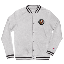 Load image into Gallery viewer, Anti Racist Social Club Embroidered Champion Bomber Jacket