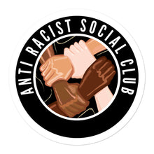Load image into Gallery viewer, Anti Racist Social Club Stickers