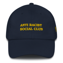 Load image into Gallery viewer, Anti Racist Social Club Dad hat Canary