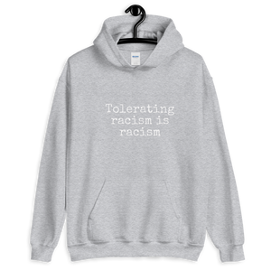 Anti Racist Social Club Zero Tolerance Unisex Hoodie