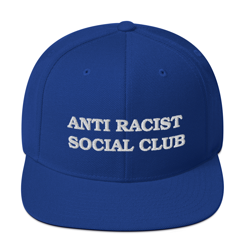 Anti Racial Social Club Snapback Hat