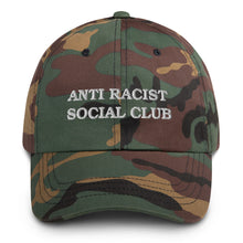 Load image into Gallery viewer, Anti Racist Social Club Dad hat