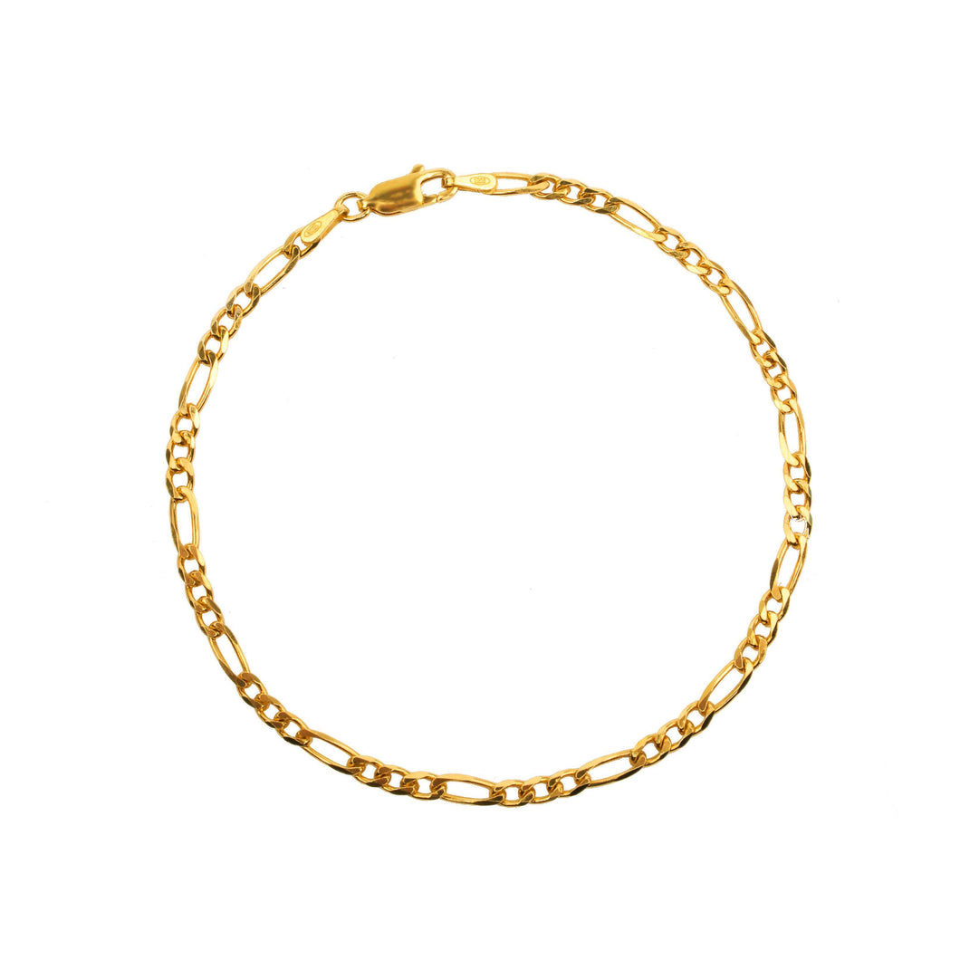 Twist Chain Bracelet - Yellow Gold Plated - BRACELET - [variant.title]- Borboleta