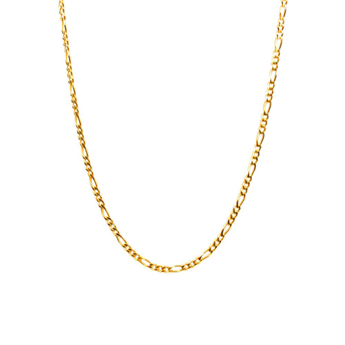 Sterling Silver Twist Chain Necklace - NECKLACE - [variant.title]- Borboleta