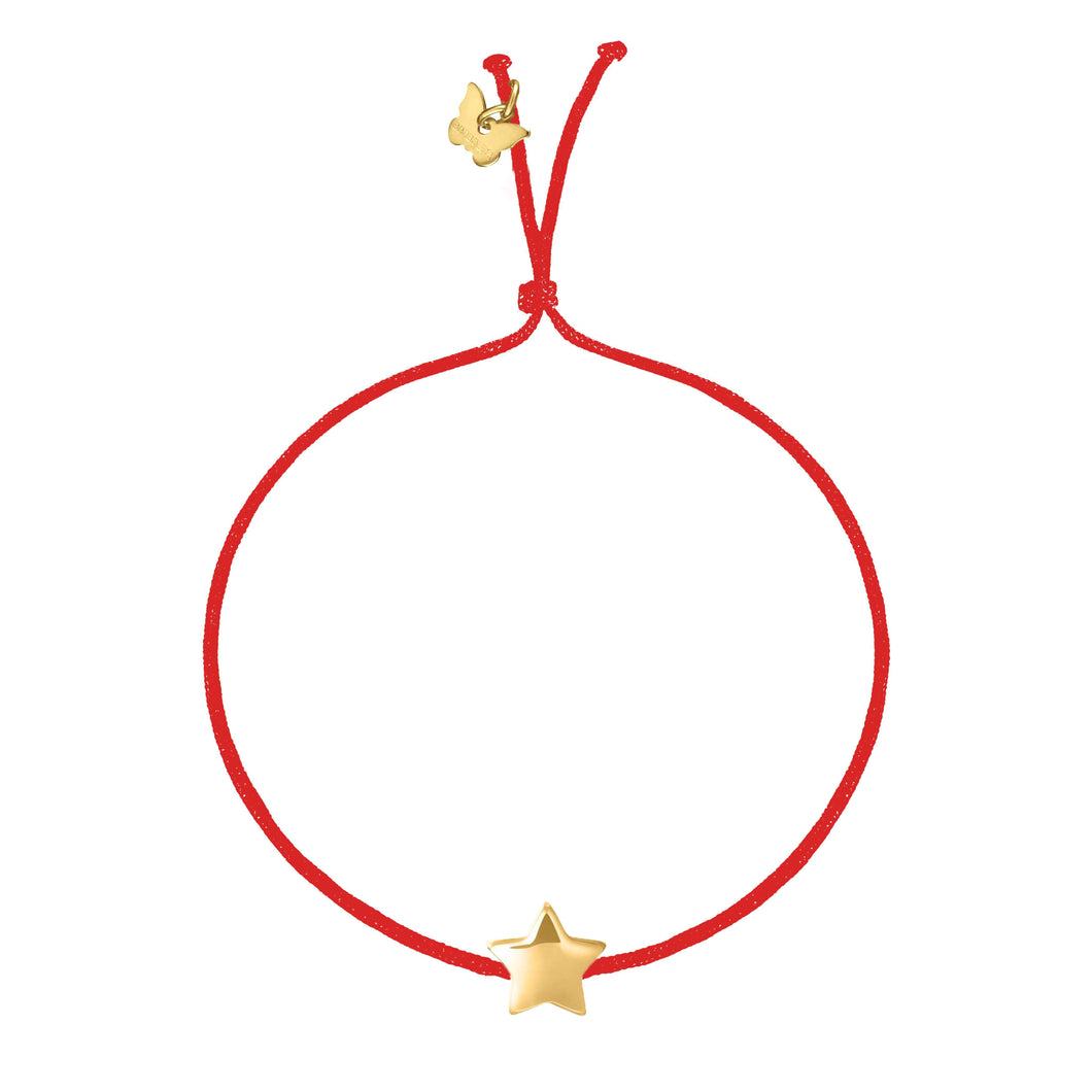Bubble Star Bracelet - Yellow Gold Plated