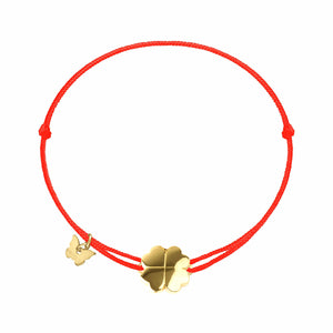 Small Clover Bracelet - Yellow Gold Plated - BRACELET - [variant.title]- Borboleta