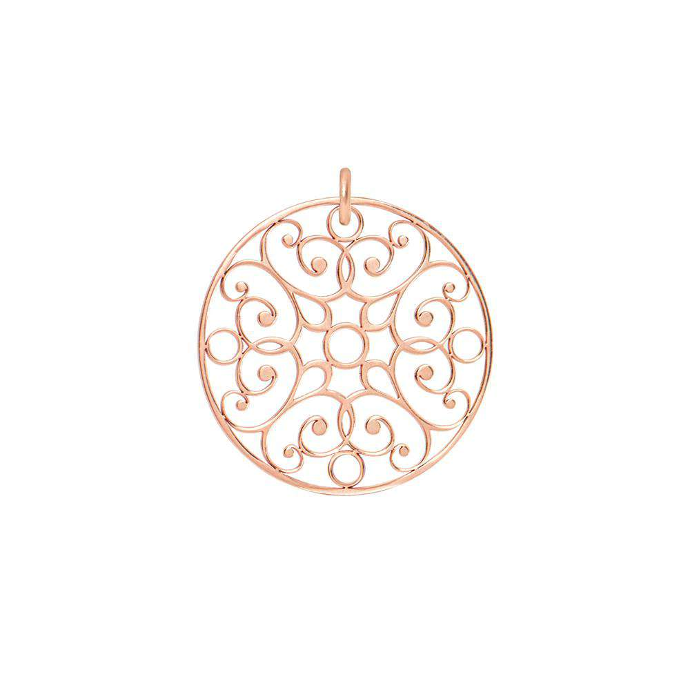 Lace Circle Charm - COLLECTABLES - [variant.title]- Borboleta