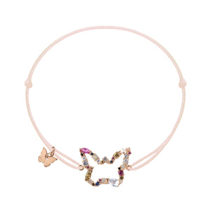 Lueur Butterfly Bracelet - Rose Gold Plated
