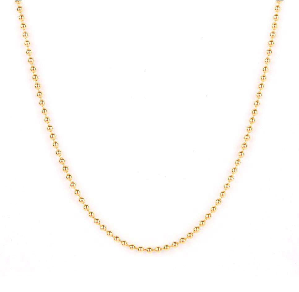 Sterling Silver Collectable Dot Chain Necklace