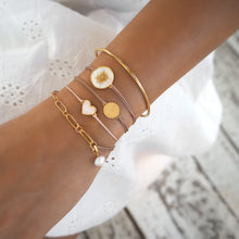 Load image into Gallery viewer, Memoire Collectable Bracelet - Yellow Gold Plated