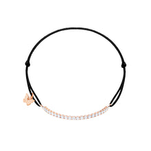 Load image into Gallery viewer, Small Tennis Bracelet - Rose Gold Plated