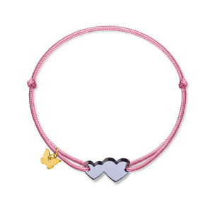 Classic Candy Two Hearts - BRACELET - [variant.title]- Borboleta