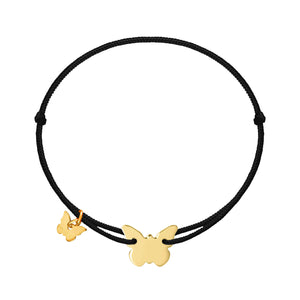 Classic Butterfly Bracelet - Yellow Gold Plated - BRACELET - [variant.title]- Borboleta