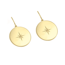 Load image into Gallery viewer, North Star Earrings - EARRINGS - [variant.title]- Borboleta