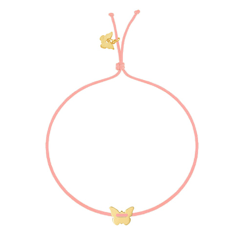 Small Butterfly Bracelet - Yellow Gold Plated - BRACELET - [variant.title]- Borboleta