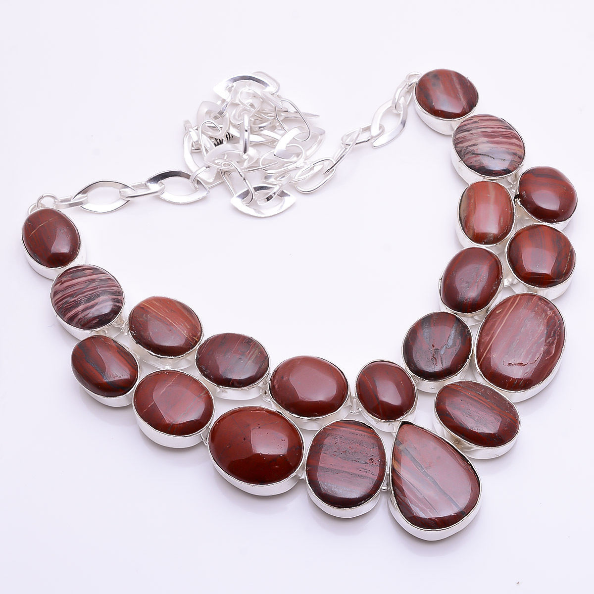 fullxfull necklaces beaded products inclined leather tropically boho collections il necklace gemstone