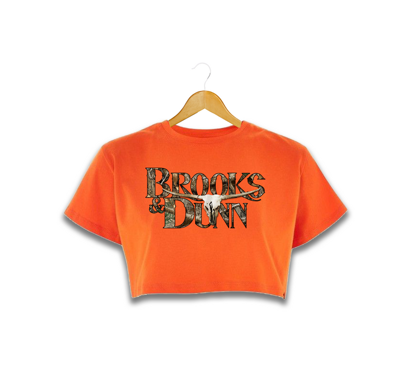 Brooks & Dunn Exclusive Realtree™ Camo Hunters' Orange Crop