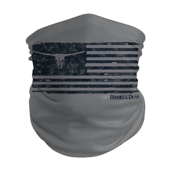 Brooks & Dunn Flag Neck Gaiter