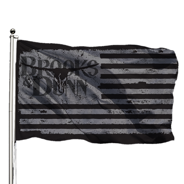Brooks & Dunn Concert Flag