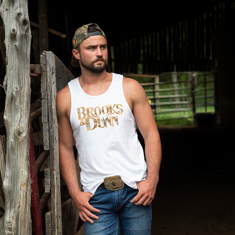 Brooks & Dunn Exclusive Realtree™ Camo White Tank