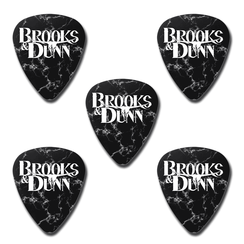 Brooks & Dunn Guitar Pick Bundle