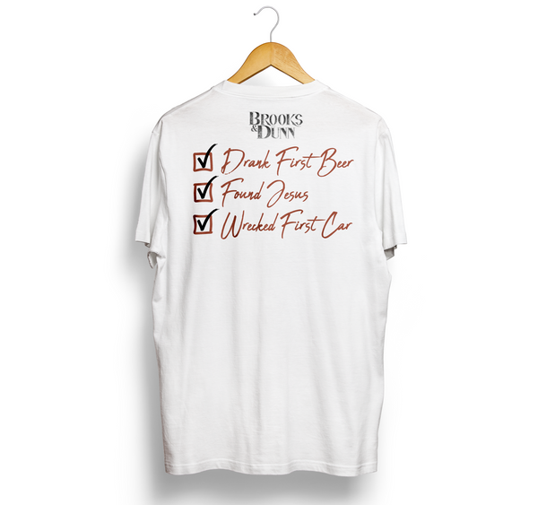 "Brooks & Dunn ""Red Dirt Road"" Tee"