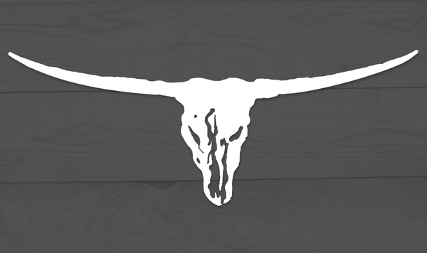 Brooks & Dunn Steer Window Decal