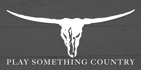"""Play Something Country"" Window Decal"