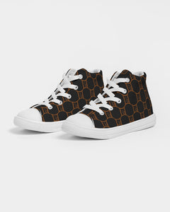 "Kids Hightop ""MG"" Canvas Shoe"