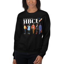 "Load image into Gallery viewer, Unisex ""Product of An HBCU"" Sweatshirt"