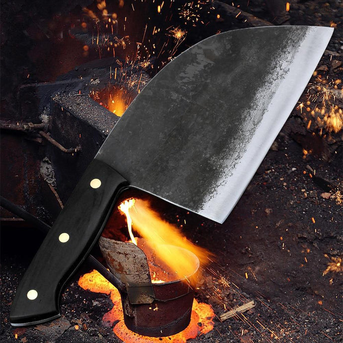 Handmade Forged Chef Knife - Home Garden Trend
