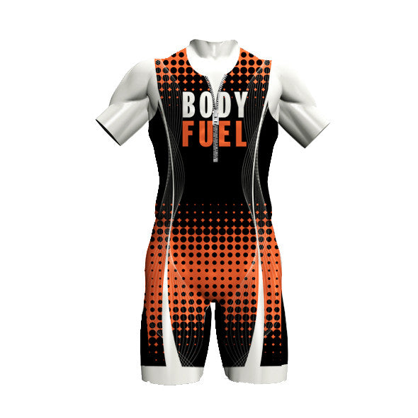 BODY FUEL MEN'S ONE PIECE TRISUIT - BLACK